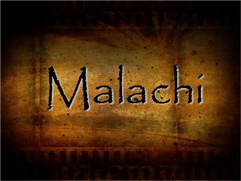 Malachi Pastor Mark Manning